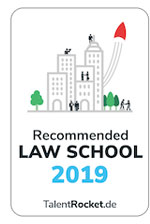 Talent Rocket Recommended Law School 2019
