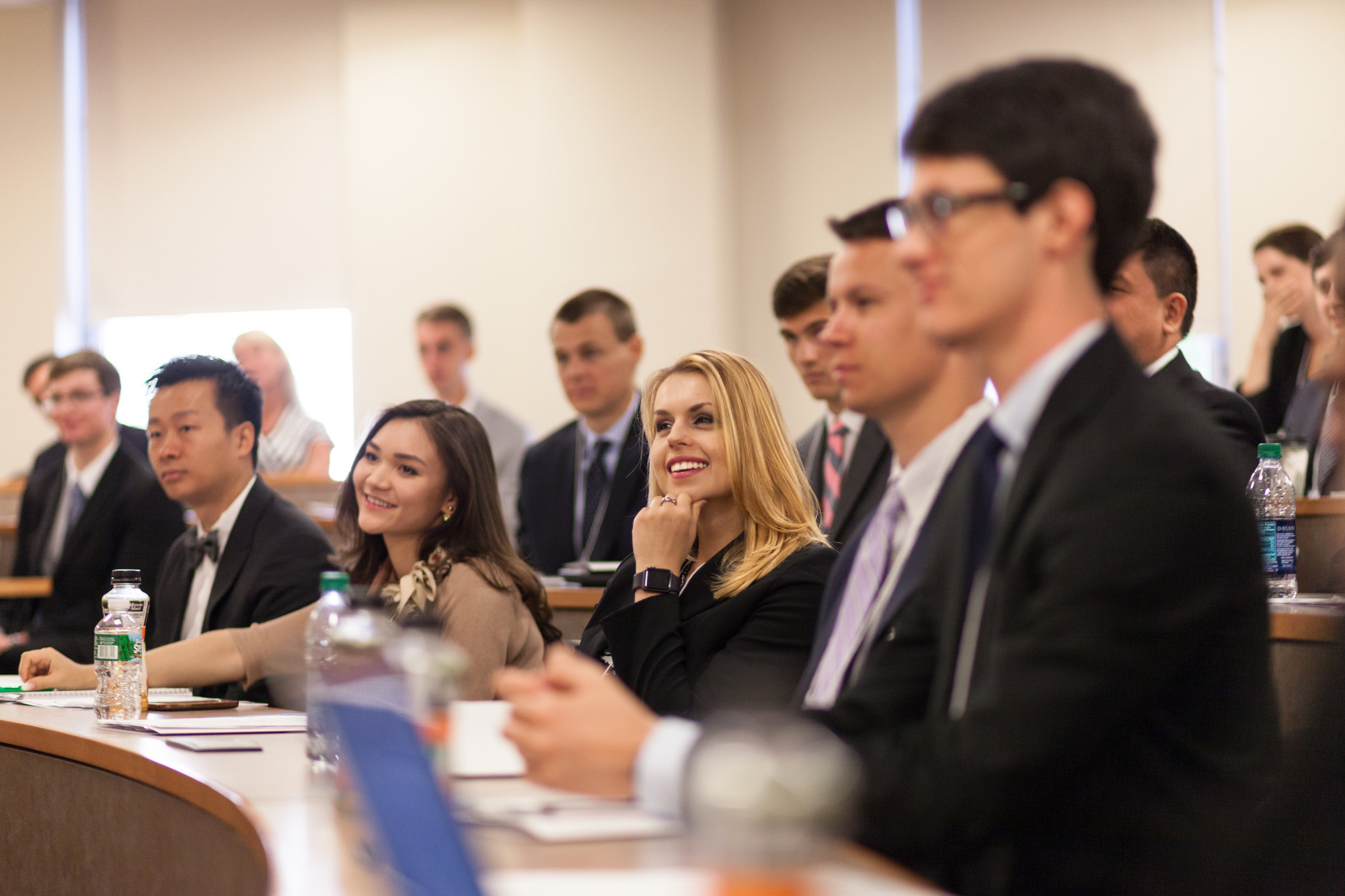 unh law students in lecture hall