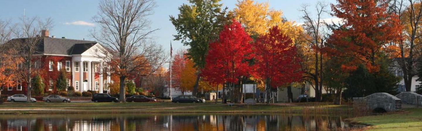 fall view of UNH Law campus