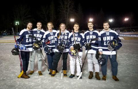 2020 Black Ice Pond Hockey Team