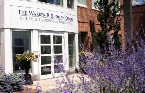 Rudman Center Entrance Summer