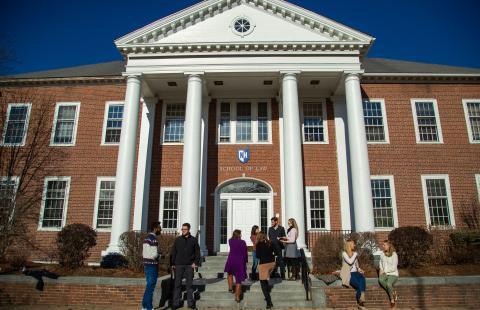 students outside law school