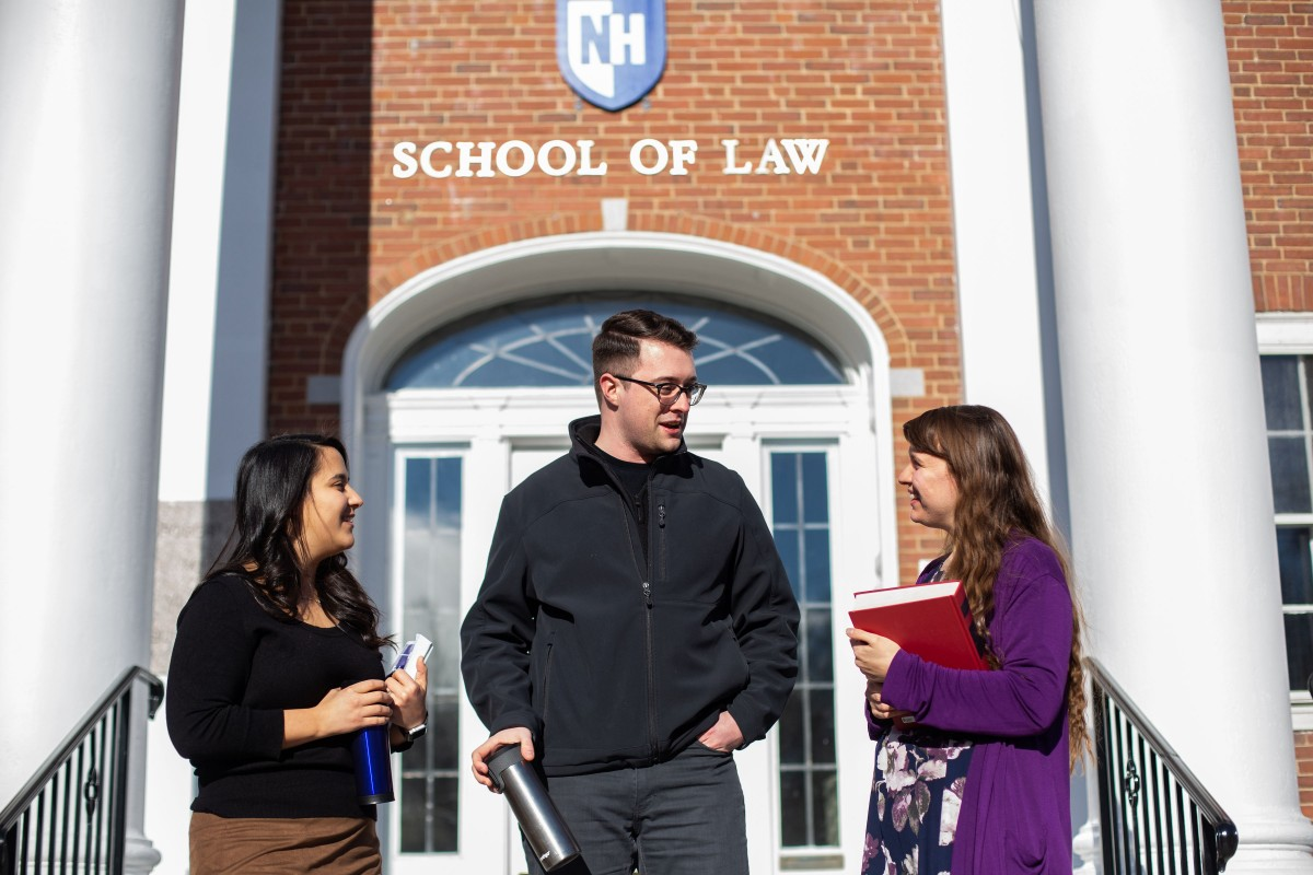 law students outside