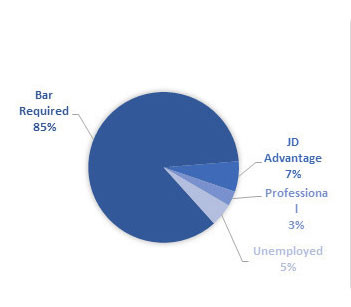 2017 employment by category