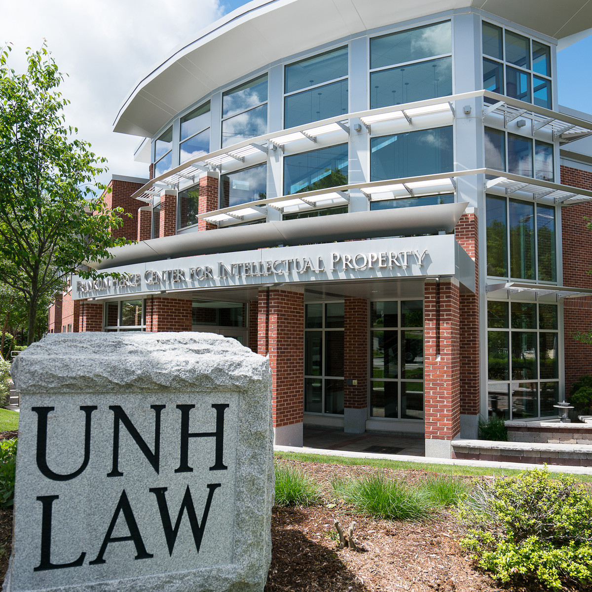 exterior of UNH Law